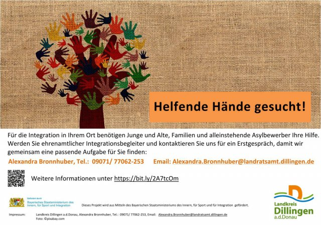Grossansicht in neuem Fenster: Flyer Integrationslotsin